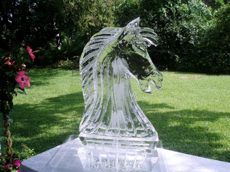 Your Wish Is Our Command Wedding Ice Sculptures